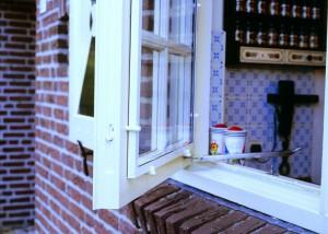 Een open raam